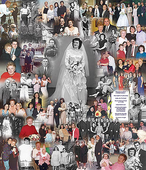 grandmother picture college ideas - Best Picture Collage Ideas