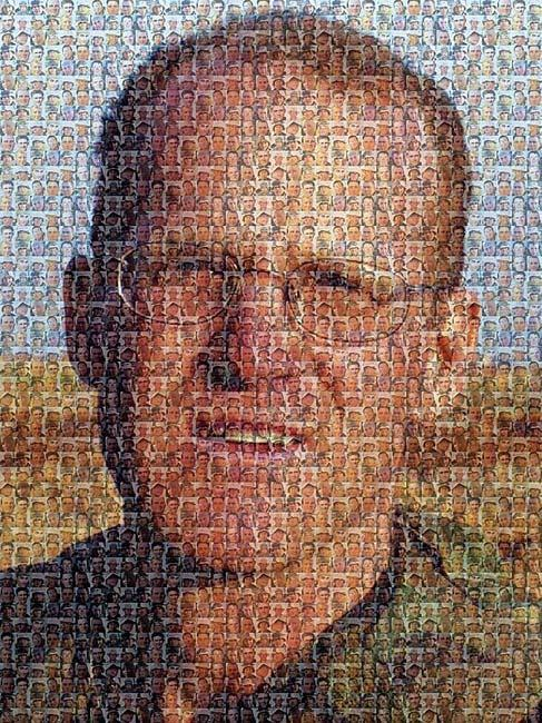 Photo Mosaic Idea Using Digital Pictures